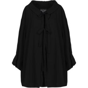 《セール開催中》BOUTIQUE MOSCHINO レディース シャツ ブラック 44 トリアセテート 80% / ポリエステル 20%
