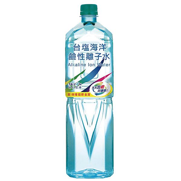 【免運/聯新貨運】台鹽海洋鹼性離子水1500ml(12瓶)*10箱【合迷雅好物超級商城】-01