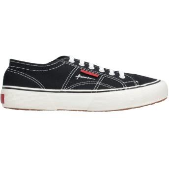 《セール開催中》SUPERGA メンズ スニーカー&テニスシューズ(ローカット) ブラック 40 紡績繊維