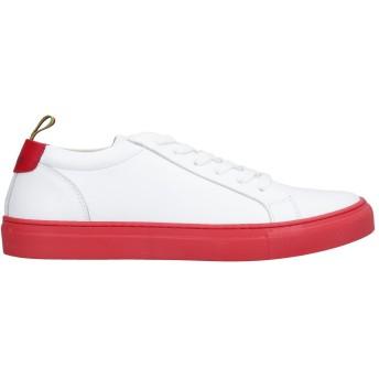 《セール開催中》MANUEL RITZ メンズ スニーカー&テニスシューズ(ローカット) ホワイト 39 革