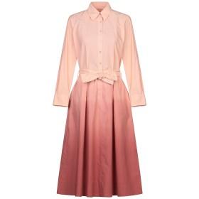 《セール開催中》LE SARTE PETTEGOLE レディース 7分丈ワンピース・ドレス あんず色 44 コットン 100%