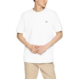 [ラコステ] 鹿の子クルーネックTシャツ メンズ TH635EM ホワイト EU 005 (日本サイズXL相当)