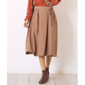 Green Parks(グリーンパークス)。ラップギャザースカート (ロング丈・マキシ丈スカート)Skirts, 裙子
