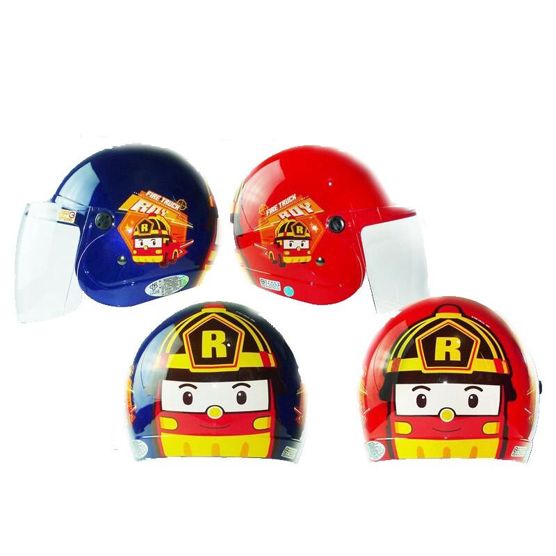華泰 羅伊 兒童騎士帽 3/4 半罩式安全帽 童帽 小童 中童 兒童安全帽 POLI 波力