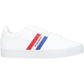 《セール開催中》LE COQ SPORTIF レディース スニーカー&テニスシューズ(ローカット) ホワイト 40 紡績繊維