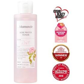 Momonde マモンドローズウォータートナー250ml韓国の有名化粧品ブランドの人気トナー肌の洗浄、皮膚の保湿の水分補給スキンケア