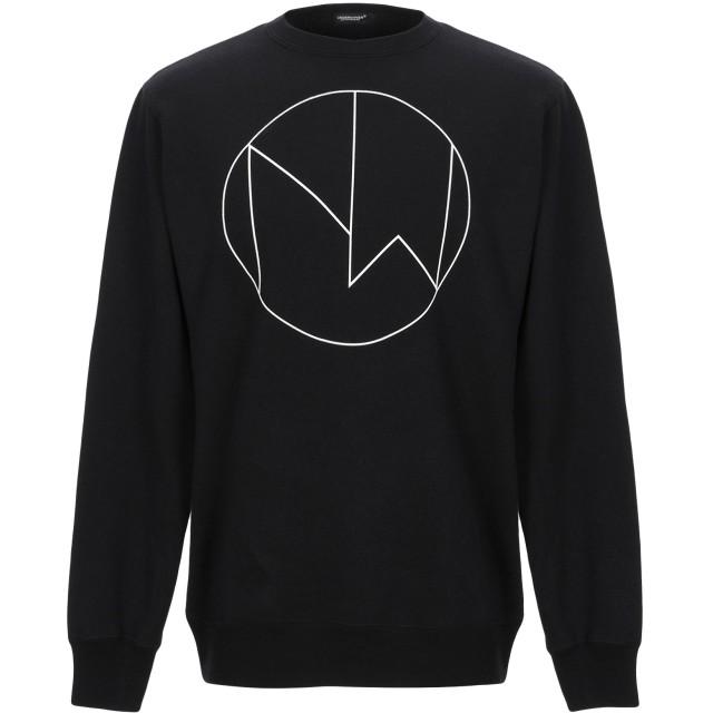 《セール開催中》UNDERCOVER メンズ スウェットシャツ ブラック 2 コットン 100%