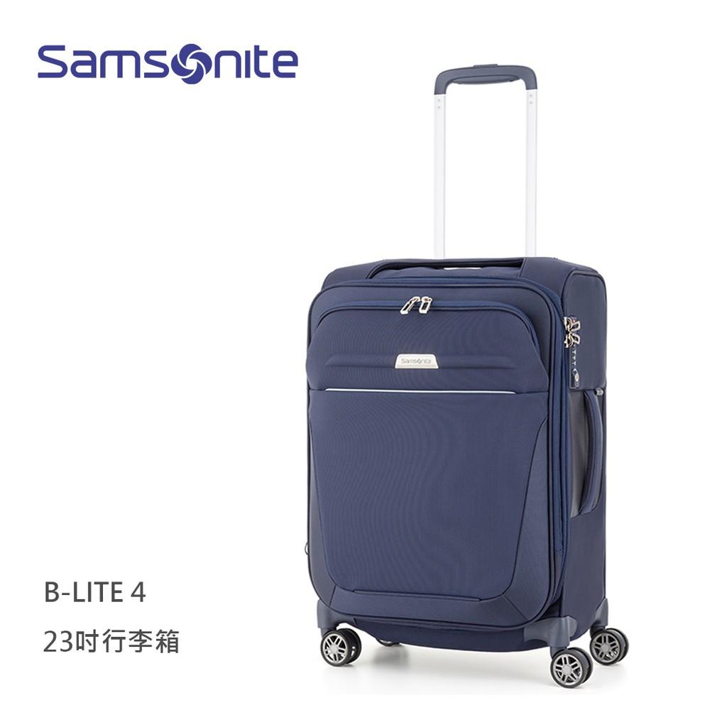 Samsonite 新秀麗【B-Lite 4 GM3】23吋行李箱 輕量2.5kg 可擴充 布面 飛機輪 39D升級款