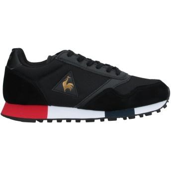 《セール開催中》LE COQ SPORTIF レディース スニーカー&テニスシューズ(ローカット) ブラック 36 革 / 紡績繊維