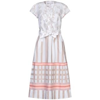 《セール開催中》LE SARTE PETTEGOLE レディース 7分丈ワンピース・ドレス ベージュ 40 コットン 100%