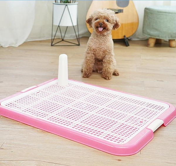 寵物廁所 小號泰迪大號大中小型犬自動寵物狗狗用品尿盆拉屎便盆金毛【快速出貨八折下殺】