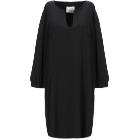 《セール開催中》CHILI レディース ミニワンピース&ドレス ブラック S ポリエステル 94% / ポリウレタン 6%