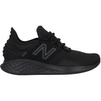 《セール開催中》NEW BALANCE メンズ スニーカー&テニスシューズ(ローカット) ブラック 9.5 紡績繊維