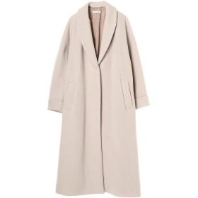 CASA FLINE オーバーサイズウールコート その他 コート,アイボリー
