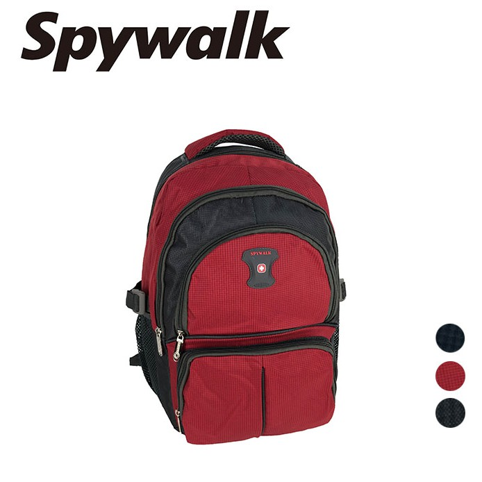 SPYWALK 多夾層後背包 NO:S5016/S5017