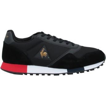 《セール開催中》LE COQ SPORTIF メンズ スニーカー&テニスシューズ(ローカット) ブラック 42 革 / 紡績繊維