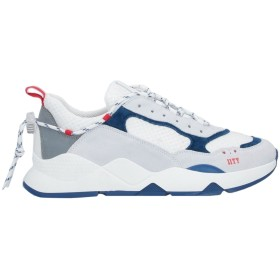 《セール開催中》ELEVENTY メンズ スニーカー&テニスシューズ(ローカット) ホワイト 41 革 / 紡績繊維