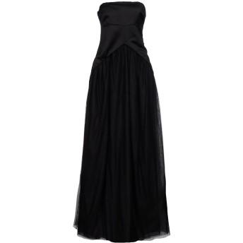 《セール開催中》BRUNELLO CUCINELLI レディース ロングワンピース&ドレス ブラック M シルク 100%