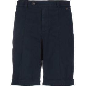 《セール開催中》BRUNELLO CUCINELLI メンズ バミューダパンツ ブルー 48 コットン 100%