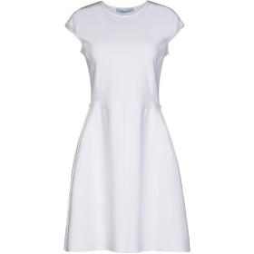 《セール開催中》BLUMARINE レディース ミニワンピース&ドレス ホワイト 48 レーヨン 79% / ポリエステル 21%
