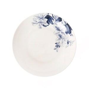 HOLA 藍槿湯盤21.5cm