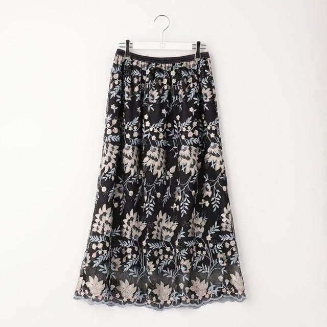 [マルイ]【セール】フラワー刺繍レーススカート/ノーリーズ レディース(NOLLEY'S)