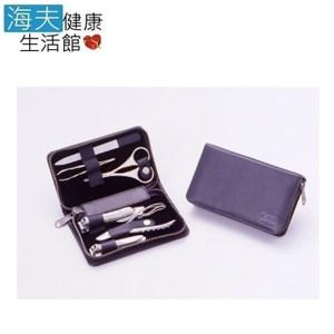 【海夫】日本GB 綠鐘 鍛造鋼 修容6件組 旅行隨身包(G-3103)