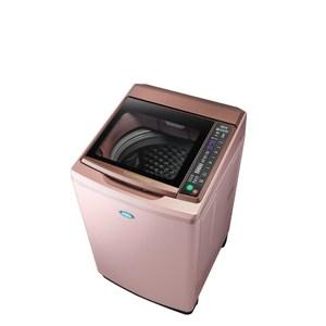 台灣三洋15公斤全玻璃觸控洗衣機SW-15DAG-D 玫瑰金