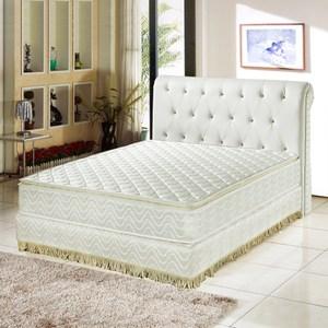 【睡芝寶】正三線-乳膠3M防潑水透氣涼蓆護背床墊雙人加大6尺