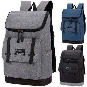 リュック メンズ レディース 男性 ラップトップバックパック 大容量 防水 リュック メンズ ビジネス リュック PCバッグ収納 旅行かばんリュック の出張に適しています 大学生、高校生,ダークグレー,35L