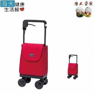 【老人當家 海夫】象印 銀髮族 輕鬆提購物車 SN (附防雨罩)酒紅色