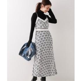 【スピック&スパン/Spick & Span】 【COOPER ST】 Print Pleats Dress / プリントプリーツドレス