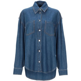 《セール開催中》MSGM レディース デニムシャツ ブルー 38 コットン 100%