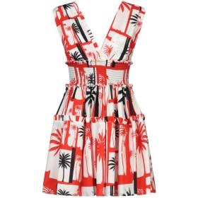 《セール開催中》FAUSTO PUGLISI レディース ミニワンピース&ドレス アイボリー 40 コットン 100%