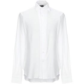 《セール開催中》ORIAN メンズ シャツ ホワイト 40 コットン 100%