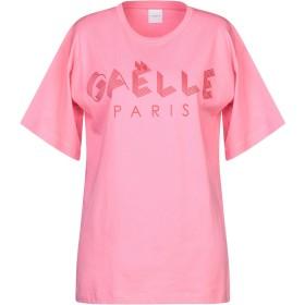 《セール開催中》GALLE Paris レディース T シャツ ピンク 0 コットン 100%