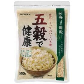 【送料無料】キッコーマン 五穀で健康500g袋×1ケース(全12本)