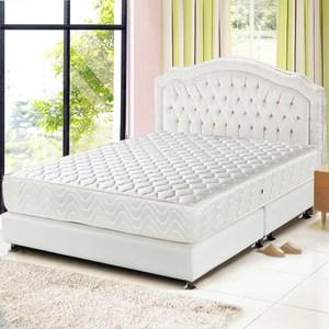【睡芝寶】矽膠3M防潑水透氣涼蓆護背床墊雙人5尺