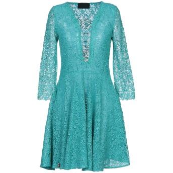 《セール開催中》PHILIPP PLEIN レディース ミニワンピース&ドレス ターコイズブルー S ポリエステル 100%