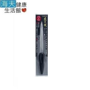 【海夫】日本GB綠鐘 粗細雙面鋼砂質附柄指緣銼刀(G-1037)雙包裝