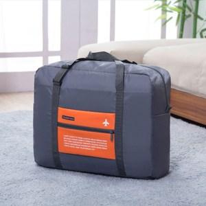 PUSH!旅遊用品防水尼龍折疊收納袋S76橘色橘色