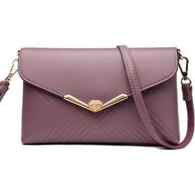 QTMIAO-Bags ショルダーバッグ、メッセンジャーバッグシンプルな野生のショルダーバッグレトロな女性のファッションのショルダーバッグは、レディース (Color : 05, Size : 25516cm)