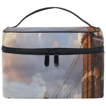 三郎の市場 シンシナティ 化粧ポーチ メイクポーチ ミニ 財布 機能的 大容量 化粧品収納 小物入れ 普段使い 出張 旅行 メイク ブラシ バッグ 化粧バッグ
