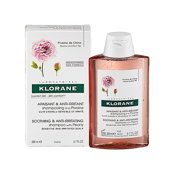 法國蔻蘿蘭KLORANE 舒敏洗髮精(200ml)【小三美日】敏感性頭皮/乾性頭皮屑適用