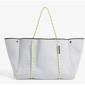 State of Escape ステイト オブ エスケープ ESCAPEBAG ビーチ トートバッグ 大容量 マザーズバッグ (white-dayglo) [並行輸入品]