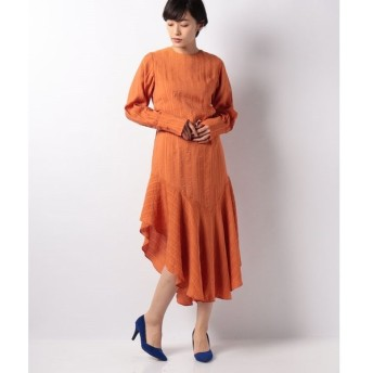 【アクチュエルセレクト】【GHOSPELL】RingDetail Midi Dress