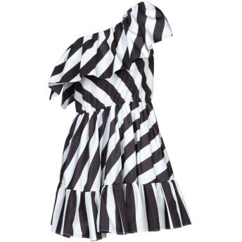 《セール開催中》MSGM レディース ミニワンピース&ドレス ブラック 44 ポリエステル 100%