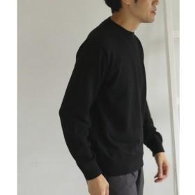 【アーバンリサーチ/URBAN RESEARCH】 DOORS ピーチスキンクルーネックニット