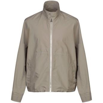 《セール開催中》SALVATORE FERRAGAMO メンズ ライトコート ミリタリーグリーン 52 ポリエステル 100% / 羊革(ラムスキン) / 牛革(カーフ)