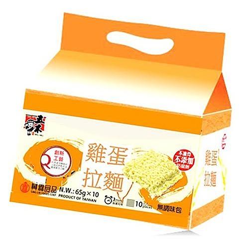 五木雞蛋拉麵量販包65g*10【愛買】